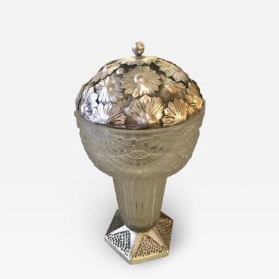 Georges Leleu Georges Leleu French Art Deco Table Lamp 1920s