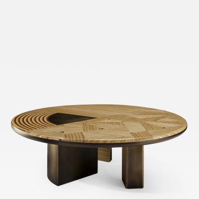 Georges Mohasseb Spiral Cycle of Life coffee table