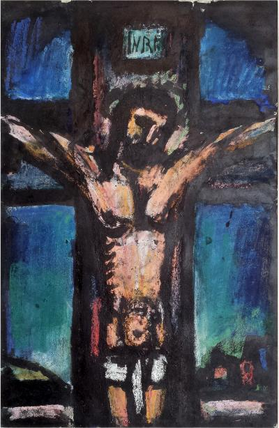 Georges Rouault Crucifixion from the The Lewisohn Collection