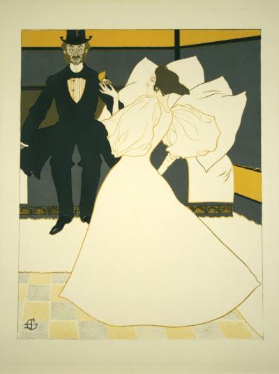 Georges de Feure LHuitre Preferee by Georges de Feure 1896