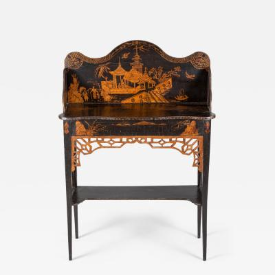 Georgian Japanned Side Serving Table Circa 1790