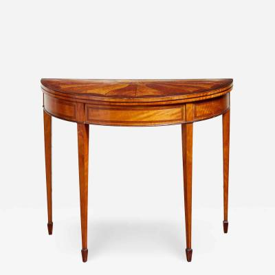 Georgian Satinwood Pembroke Table