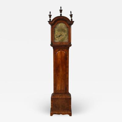 Georgian Walnut Tall Case Clock by Thomas Smith of Norwich