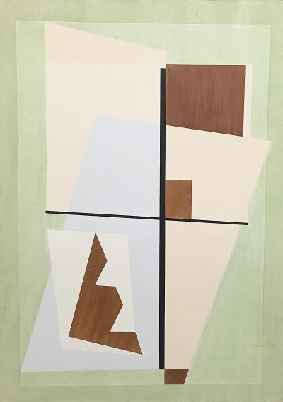 Gerald Johnson Untitled Constructivist Work