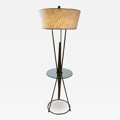 Gerald Thurston RARE MID CENTURY MODERN FLOOR LAMP BY GERALD THURSTON