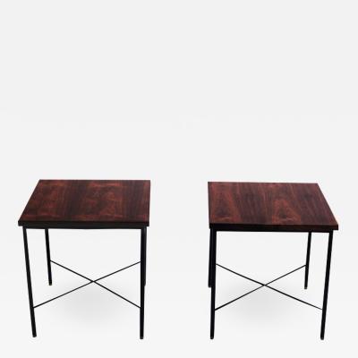 Geraldo de Barros Pair of Side Tables by Geraldo de Barros Brazil 1960s