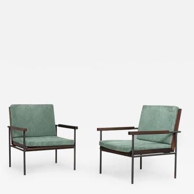 Geraldo de Barros Pair of armchairs