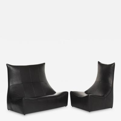 Gerard van den Berg Leather Sitting Set Rock Series Gerard van den Berg Montis
