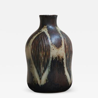 Gerd Bogelund Vase with Sung glaze aby Gerd Bogelund