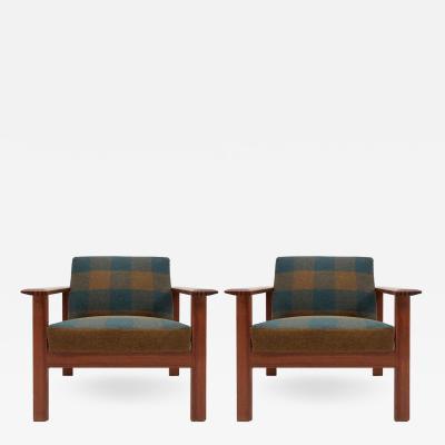 Gerhard Berg Gerhard Berg Kubus Lounge Chairs 1960
