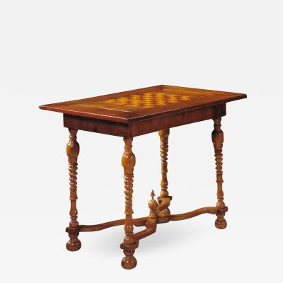 German 18th Century Games or Center Table