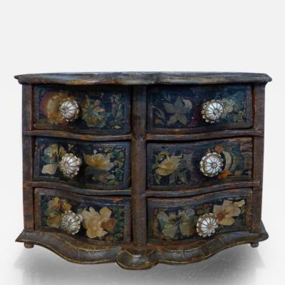 German 18th Century Miniature Chest