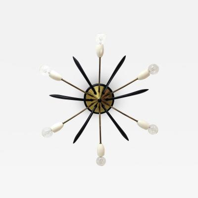 German Six Arm Sputnik Light 1960