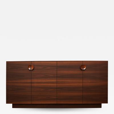 Germano Marchetti Tramonto Smoked Eucalyptus and Etimoe Wood Sideboard