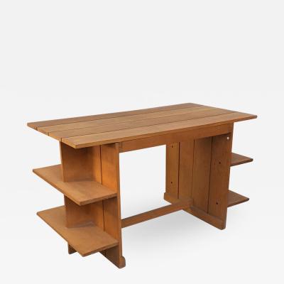 Gerrit Rietveld Crate desk by Gerrit Thomas Rietveld for Cassina 1934