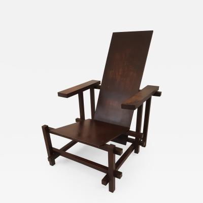Gerrit Rietveld Gerrit Rietveld Latten leunstoel or Slatted armchair 1919