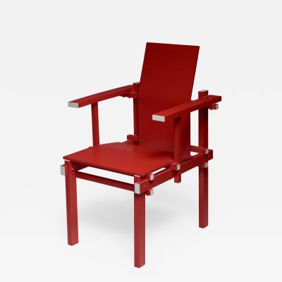 Gerrit Rietveld Red Gerrit Rietveld armchair The Netherlands 1974