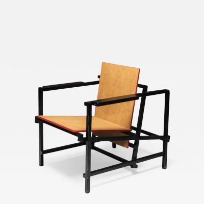 Gerrit Rietveld Rietveld Style Armchair 1970s