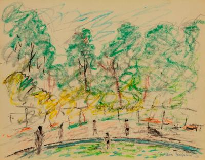 Gershon Benjamin Central Park