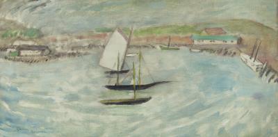 Gershon Benjamin Gloucester Harbor 3 ca 1930