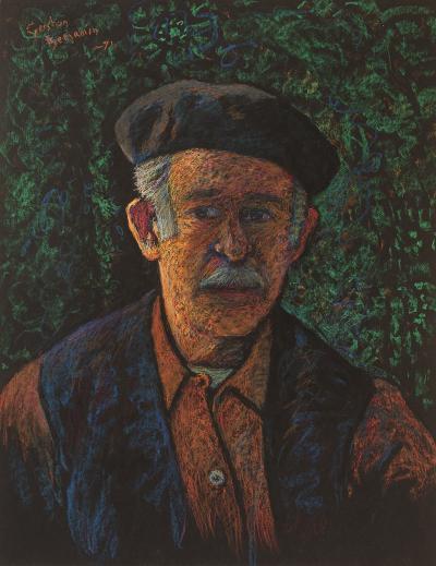 Gershon Benjamin Self Portrait