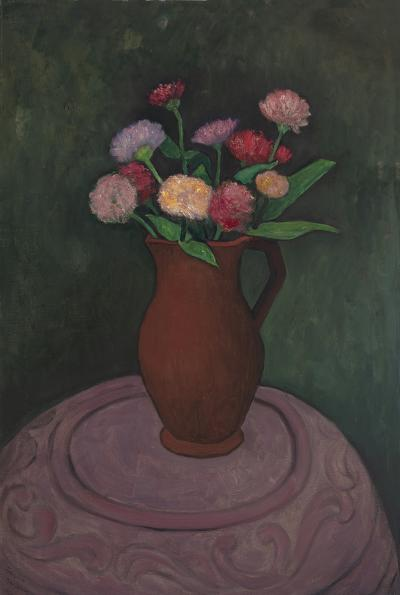 Gershon Benjamin The Pot Stove the Flowers and the Pitcher