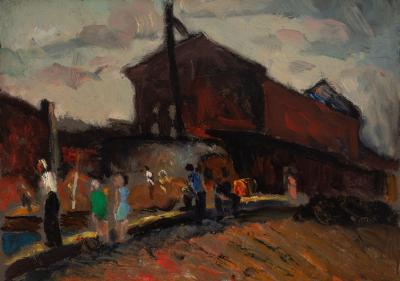 Gershon Benjamin The Train Depot