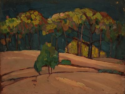 Gershon Benjamin Through the Trees