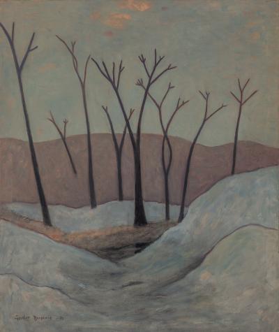 Gershon Benjamin Trees in Winter