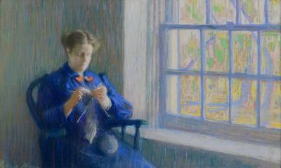 Gertrude Mrs John MacLean Magie Knitting
