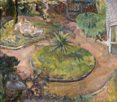 Gertrude Partington Albright Our Garden