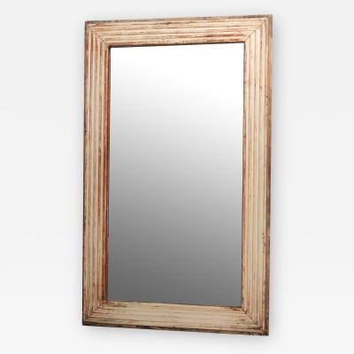 Gessoed Wall Mirror
