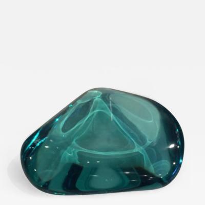 Ghir Studio A Hand Cut Lava Glass Bowl by Ghiro