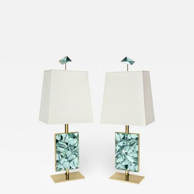 Ghir Studio Pixel Studio Made Table Lamps by Ghir Studio