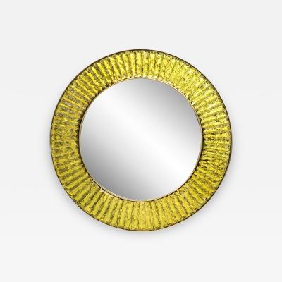 Ghir Studio Studio Built Circular Mirror by Ghir Studio