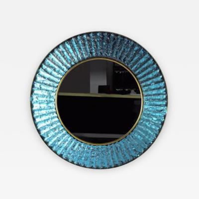 Ghir Studio The Studio Mirror in Blue by Ghiro