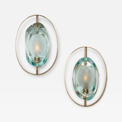 Ghiro Studio Cut Glass Sconces by Ghiro Studios