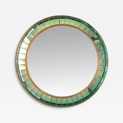 Ghiro Studio Spectacular Hand Cut Crystal Glass Mirror by Ghiro