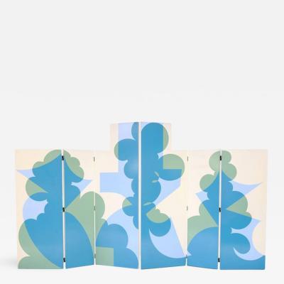 Giacomo Balla Room Dividers by Giacomo Balla for Gavina 1970s