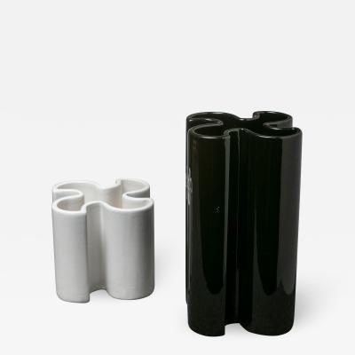 Giancarlo Gabbianelli Pair of Ceramic Vases by Bettonica Gabbianelli