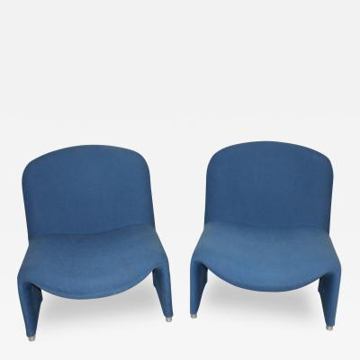 Giancarlo Piretti Pair of Alky chairs by Giancarlo Piretti