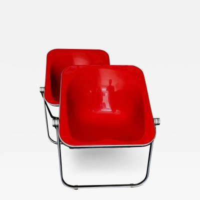 Giancarlo Piretti Plona Folding Armchairs