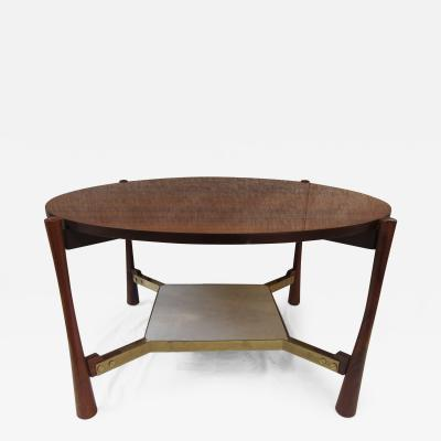 Gianfranco Frattini A Rosewood Table by Gianfranco Frattini Italy 1960