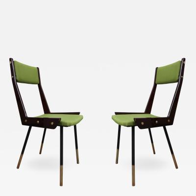 Gianfranco Frattini A pair of chairs by Gianfranco Frattini Italy 60