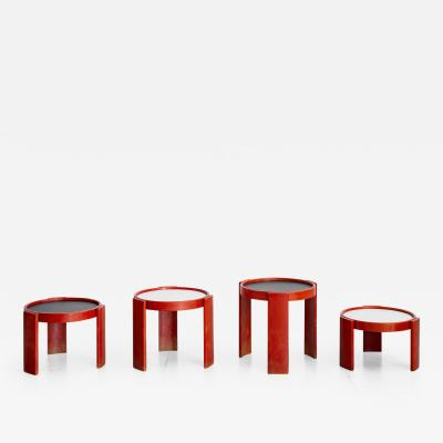 Gianfranco Frattini GIANFRANCO FRATTINI FOR CASSINA NESTING TABLES