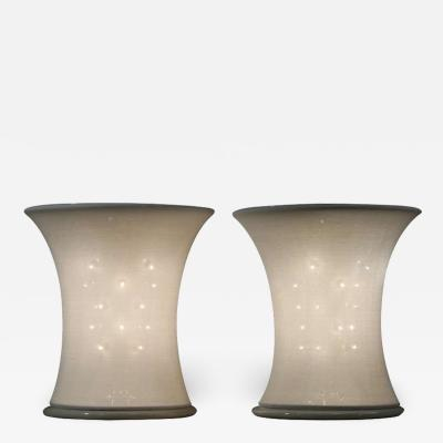 Gianfranco Frattini Pair of Lucilla Table Lamps By Gianfranco Frattini