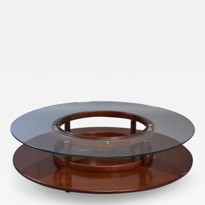 Gianfranco Frattini Spectacular Coffee Table by Gianfranco Frattini for Cassina Italy 1960s