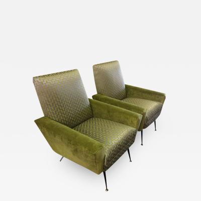 Gianfranco Frattini Stylish Midcentury Italian Chairs by Gianfranco Frattini
