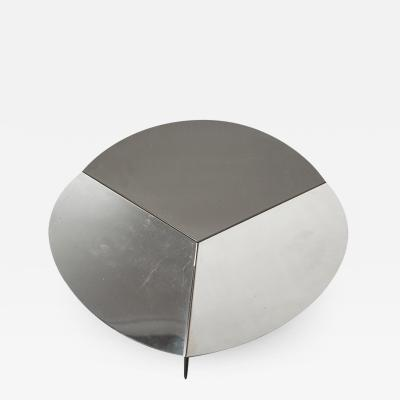 Gianfranco Grignani Steel Centerpiece by Grignani for Luci