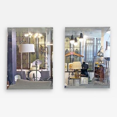 Gianni Celada Decorative mirrors by Gianni Celada for Fontana Arte 1970s